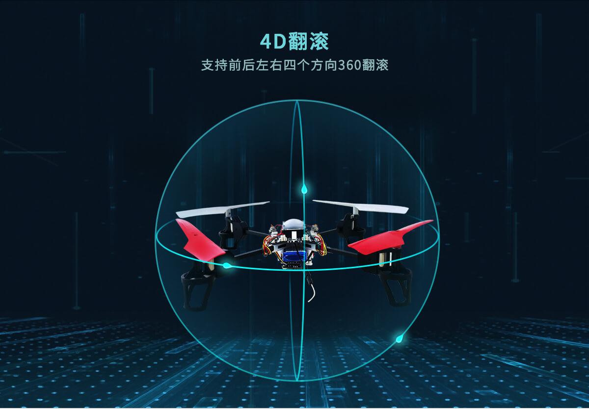 AI开源编队无人机